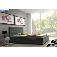 Łóżka z ekoskóry  SYLVI - polibox