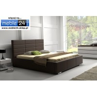 Łóżko tapicerowane MARS  - polibox