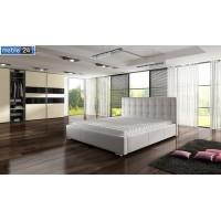Nowoczesne łóżka tapicerowane TESSA - polibox