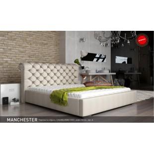 Łóżka stylowe   MENCZESTER - polibox