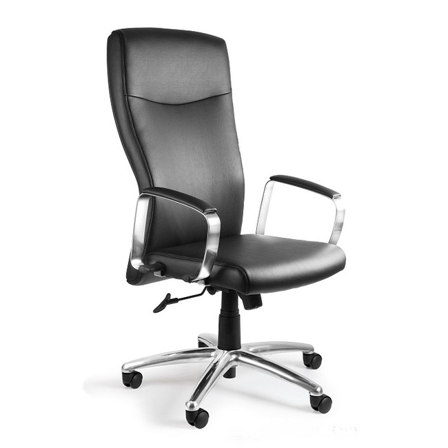 Fotel biurowy nowoczesny  MELA  ekoskóra
