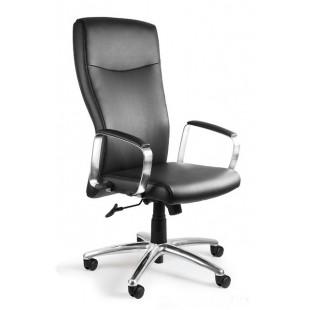 Fotel biurowy nowoczesny  MELA  skóra