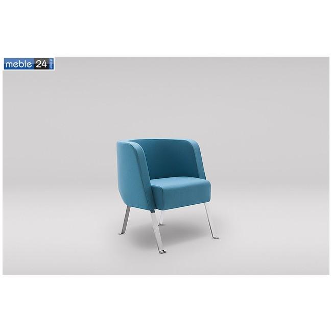 Fotele do salonu EURO NEON-S metalowe nogi