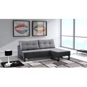 Nowoczesna sofa  NIKOLA + opcja pufy