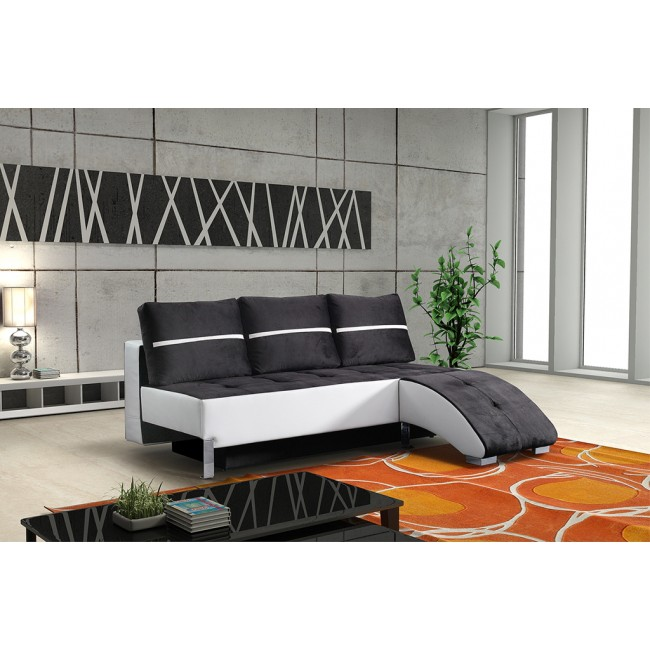 Nowoczesna sofa  BETI + opcja pufy