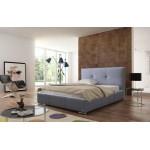 Łóżko z pojemnikiem i materacem LILA - polibox