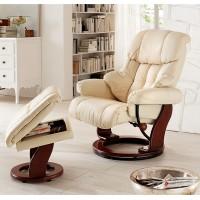 Fotel tv relax + podnóżek ALTAIR