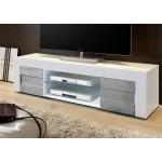 Włoska RTV BARI lc-02 biała beton 181/44/42 cm