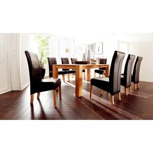 Stół drewniany lity buk lub dąb PIOTR 140/80 cm