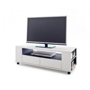 Szafka RTV  ELSE  biała 119/46/43 cm