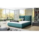 Nowoczesne łóżka tapicerowane GABI - polibox
