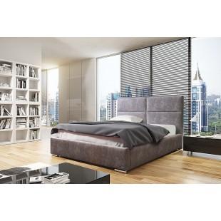 Łóżko tapicerowane MIKA -polibox
