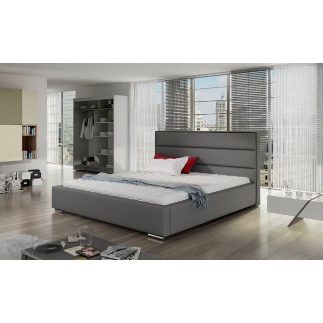 Łóżko tapicerowane TEON-polibox