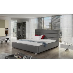 Łóżko tapicerowane TEON -polibox