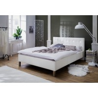 Łóżko tapicerowane KRYSTAL 160/200 cm  z kryształkami