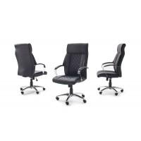 Fotel biurowy GOL czarna 150kg chrom