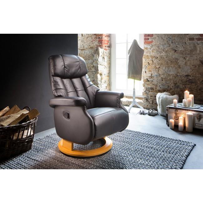Fotel tv relax  ALTAIR KOMFORT L z rozkładanym podnóżkiem