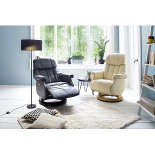 Fotel tv relax  ALTAIR XL z rozkładanym elektrycznie podnóżkiem