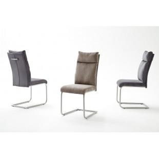 Krzesło APIA  tkanina szenil 45/62/106 cm
