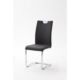 Krzesło TINA  ekoskóra 43/57/100 cm