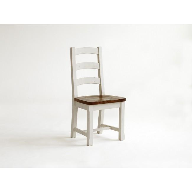 Krzesło z litego drewna sosnowego BODE 48/51/108 cm