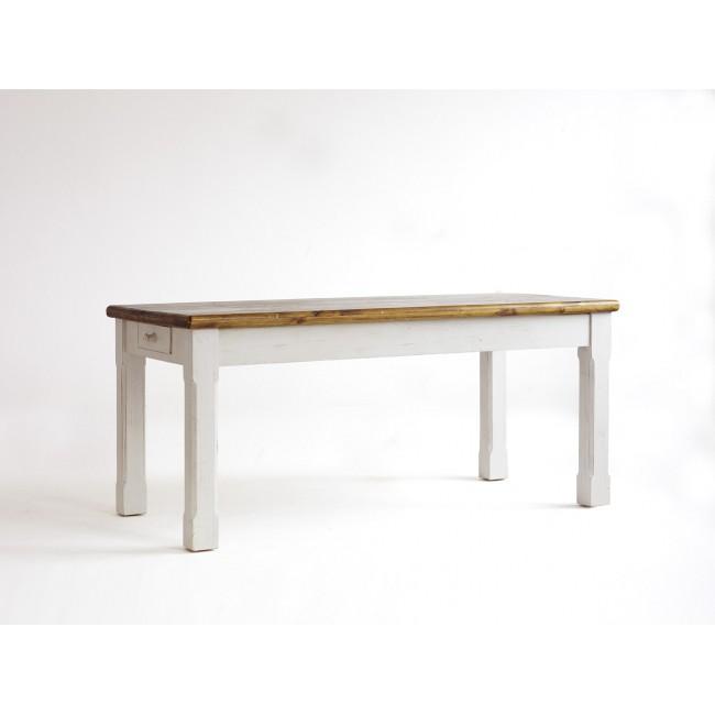 Stół z litego drewna sosnowego BODE 180/90/80 cm