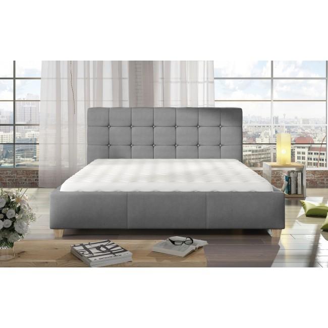 Nowoczesne łóżka Tesso Nóżki 10 Cm Polibox Meble24skleppl