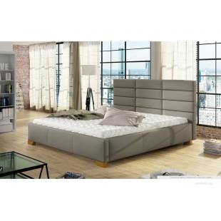 Nowoczesne łóżka MARSO  nóżki 10 cm - polibox