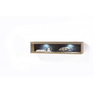 Regał wiszący mały dąb sękaty DESPERODOS 124/23/27 cm