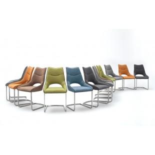 Krzesło LORINA tkanina 6 kolorów 62/53/96 cm