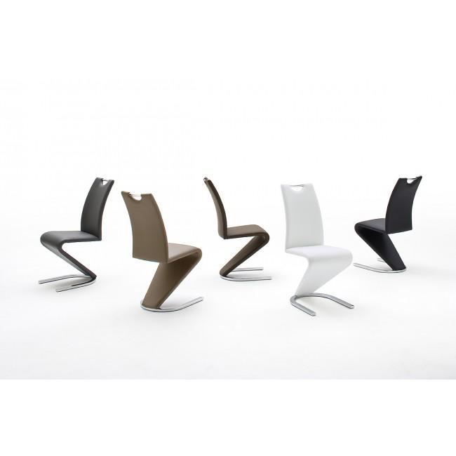Krzesło ekoskóra 10 kolorów ALAMO 45/62/10 cm