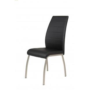 Krzesło BURSZTYN  ekoskóra  3 kolory 43/60/98 cm