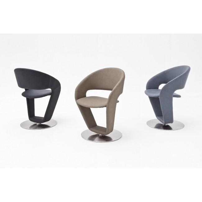 Krzesło FIONA  ekoskóra  3 kolory 61/62/89 cm