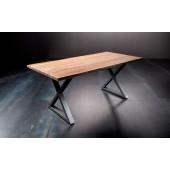 Stół KALABRIA drewno akacjowe długość 180 cm blat 3,5 cm
