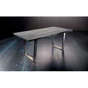 Stół KALABRIA drewno akacjowe długość 200 cm blat 3,5 cm