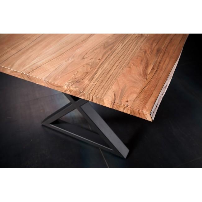 Stół KALABRIA drewno akacjowe długość 220 cm blat 5,5 cm