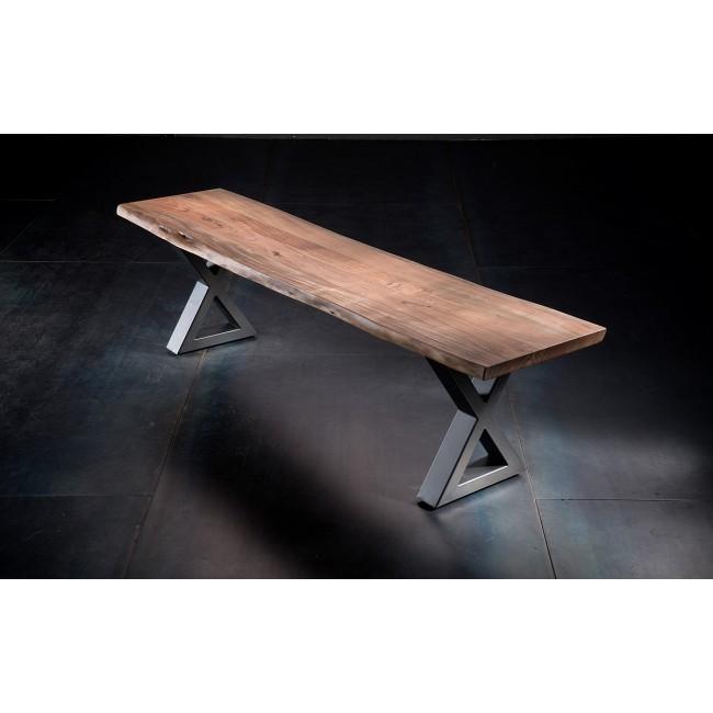 Ławka KALABRIA drewno akacjowe długość 160/40/47 cm