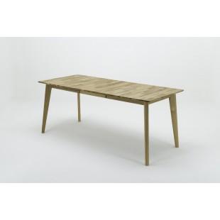 Stół dębowy rozkładany ENEY 140-185/80/77 cm