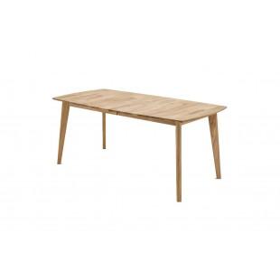Stół rozkładany dąb dziki olejowany JANNA dwa rozmiary