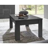 Antracytowy stolik kawowy SINIORA 122/65/45 cm