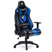 Fotel dla gracza DRAGON  BLUE ekoskóra
