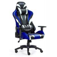 Fotel dla gracza MONSTER BLUE ekoskóra