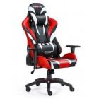 Fotel dla gracza MONSTER RED ekoskóra