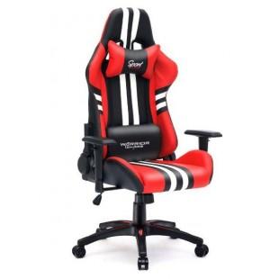 Fotel dla gracza SPORT RED ekoskóra
