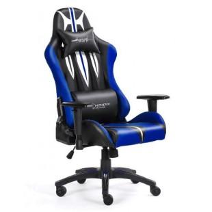 Fotel dla gracza SWORD BLUE ekoskóra