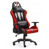 Fotel dla gracza SWORD RED ekoskóra