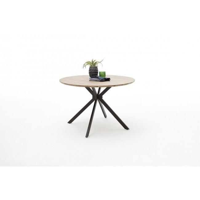 Stół dąb dziki antyk RENZE 120/76 cm