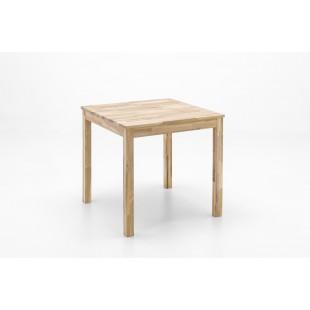 Stół REGIO dąb lity dziki olejowany 80/80/76 cm