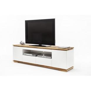 Szafka RTV ARON biała   202/54/40 cm