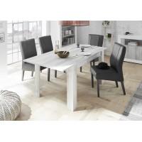 Stół rozkładany RUBIN sosna biała 137-185/90/79 cm